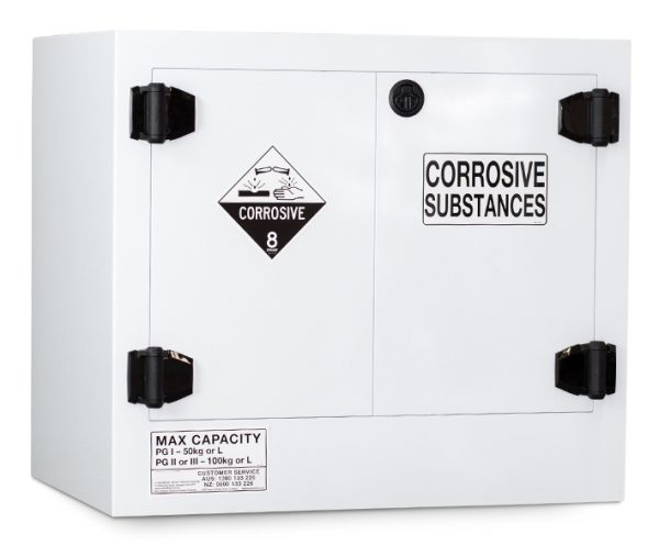 Poly Corrosive Storage Cabinet – 100 Litre