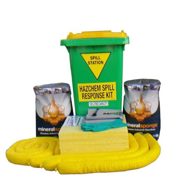 120 Litre Hazchem Spill Kit – AusSpill Quality Compliant