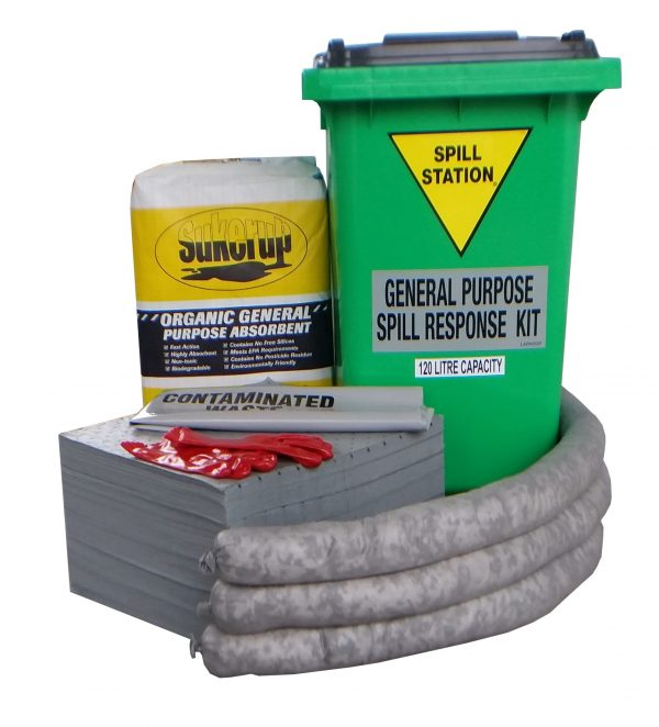 120 Litre General Purpose Spill Kit – AusSpill Quality Compliant