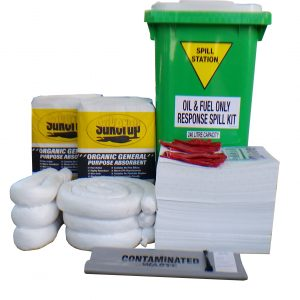 Compliant Oil Fuel Spill Kit – 240 Litre