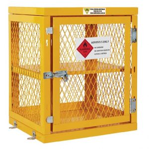 Aerosol Storage Cage – 84 Can Capacity