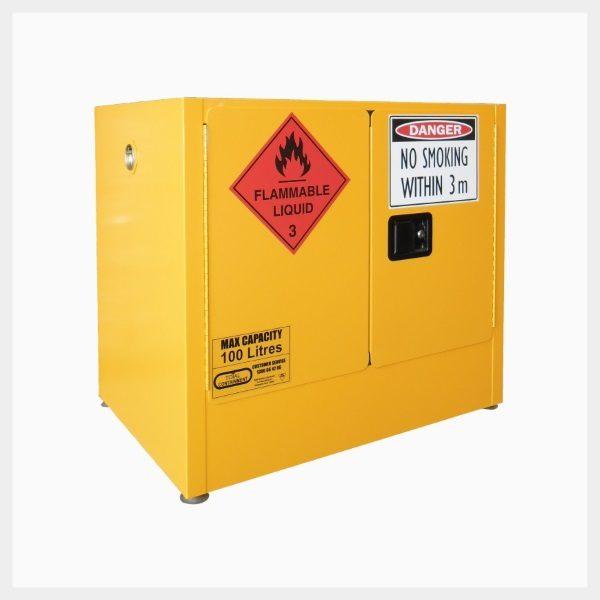 100 Litre Flammable Liquid Storage Cabinet Spill Station Australia