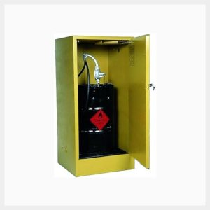 Flammable Liquid Storage Cabinet 205 Litre Upright Drum 180 Kilogram