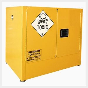BCTSS100L Toxic Substance Storage Cabinet 100 Litre 2 Door