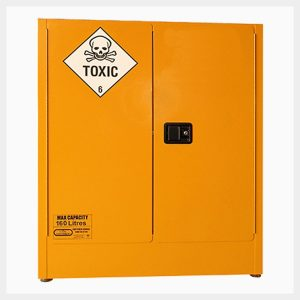 Toxic Substance Storage Cabinet – 160 Litre 2-Door
