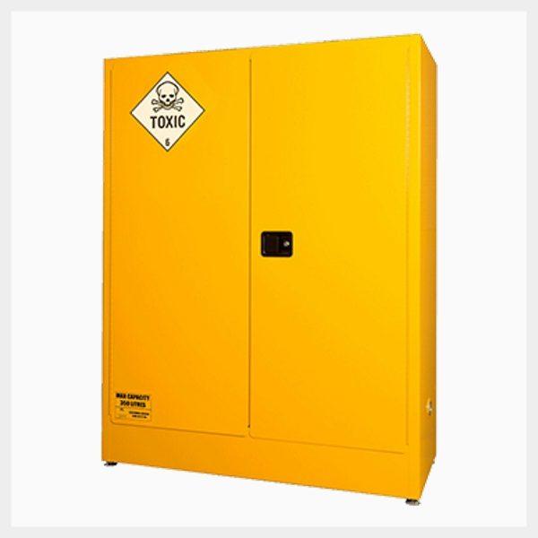 Toxic Substance Storage Cabinet – 2-Door Economy 250 Litre