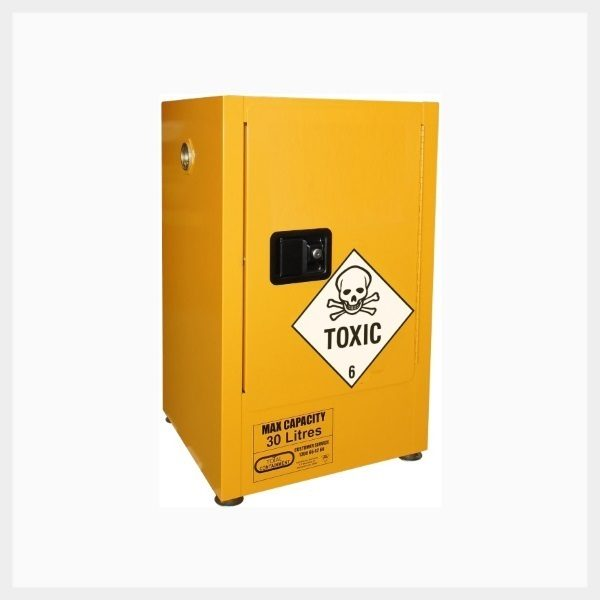 Toxic Substance Storage Cabinet – 205 Litre Vertical Drum 1-Door