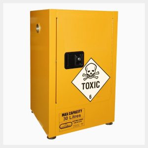 Toxic Substance Storage Cabinet – 30 Litre 1-Door
