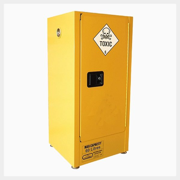 Toxic Substance Storage Cabinet – 60 Litre 1-Door