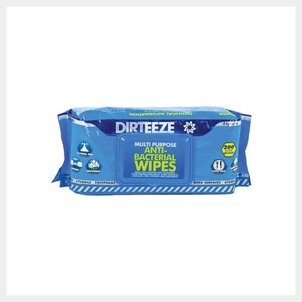 Antibacterial Wet Wipes Flowpack 200