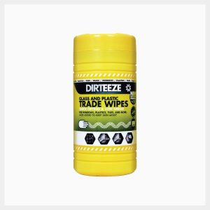Dirteeze Glass & Plastic Wipes