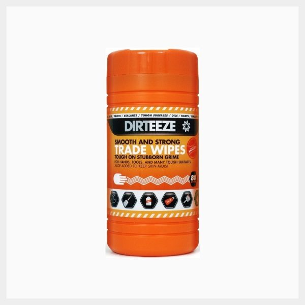 Jumbo Tub 80 Smooth & Strong Wet Trade Wipes