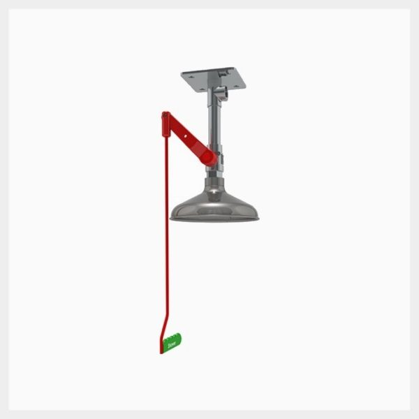 H-EXP23GSV Ceiling Mounted Unheated Emergency Safety Shower