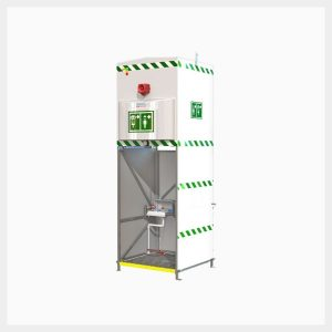 H-EXPJ14KS1500 Jacketed & Insulated 1500 Litre Emergency Tank Shower