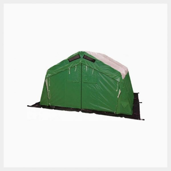 Hughes Articulating Rapid Deployment (HARD) Emergency Shelter