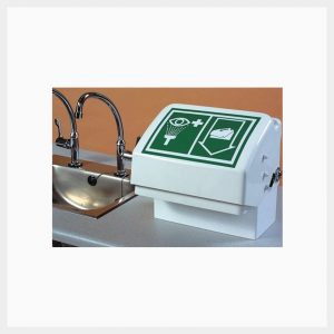 H-STD45GT Bench Mounted Covered Emergency Eye/Facewash