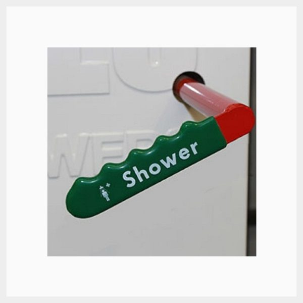 Tank Shower Test Handle
