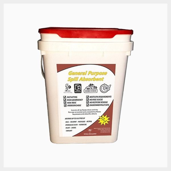 General Purpose Spill Absorbent 10 Litre Pail