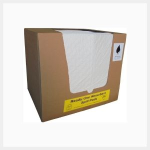 Absorbent Pads 100 Sheets Oil & Fuel 200 GSM