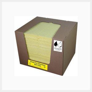 Absorbent Pads 100 Sheets Hazchem 200 GSM