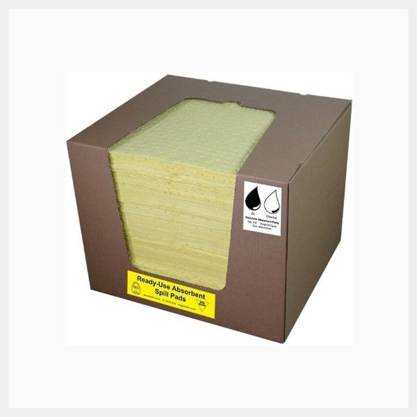 Absorbent Pads – 100 Sheets Hazchem 200 GSM