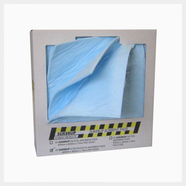 Absorbent Pads – 40 Sheets Hazchem 200 GSM