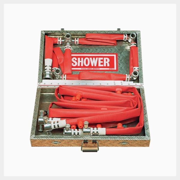 Portaflex 16 Nozzle Portable Decontamination Shower