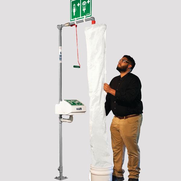 Initial Safety Shower or Eyewash Inspection, Test, & Maintenance Service