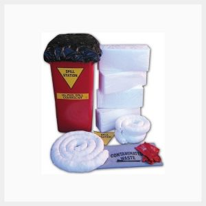 100 Litre Oil & Fuel Spill Kit