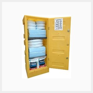 Hazchem Spill Kit 375 Litre Lockable Cabinet