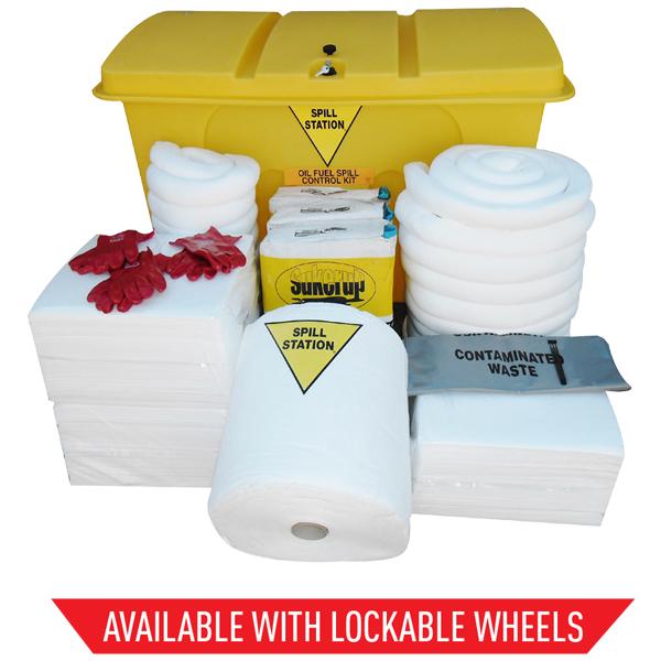 580 Litre Oil & Fuel Spill Kit