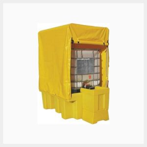 IBC Spill Pallet Single Frame & Cover