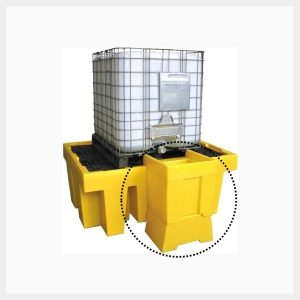 Dispensing Well Single IBC Spill Pallet