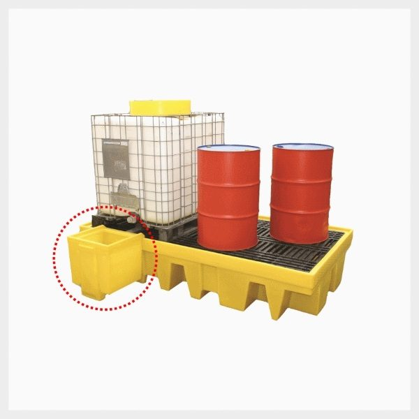 Dispensing Well – Dual IBC Spill Pallet