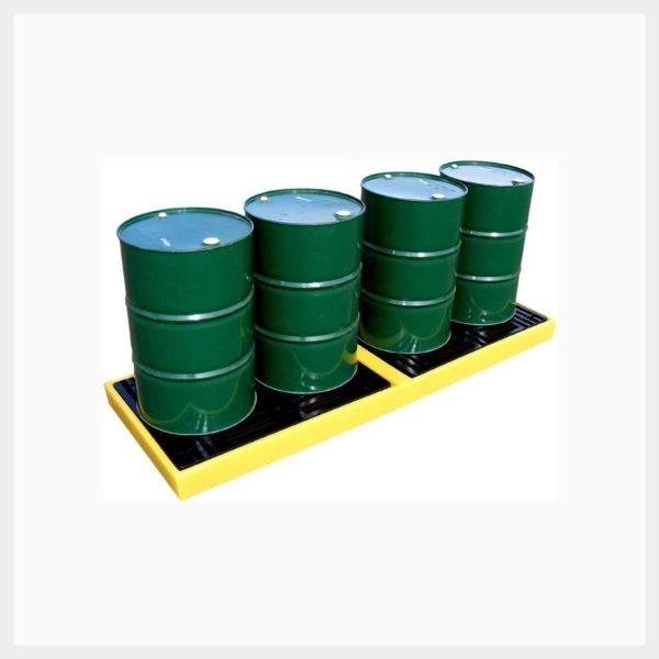 4-Drum In-line Spill Deck