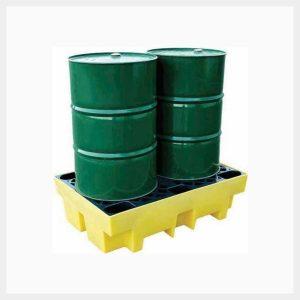 Spill Pallet – 240 Litre Sump 2-Drum