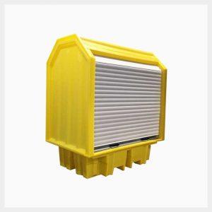 230 Litre Hard-Cover Spill Pallet - TSSBP2RT