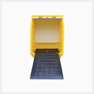 410 Litre Hard-Cover Spill Pallet - TSSBP4RT