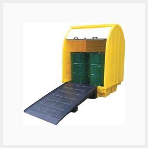 TSSBP4RT - 410 Litre Hard-Cover Spill Pallet