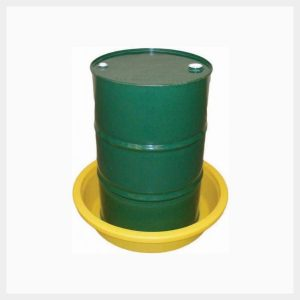 50 Litre Round Spill Tray for Single 205 Litre Drum