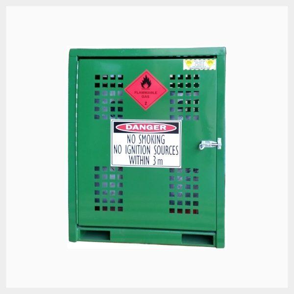 Forklift Gas Cage – 2 Cylinder x 15 Kilogram