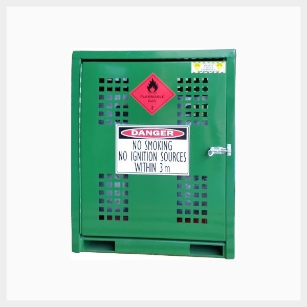 Forklift Gas Cage – 6 Cylinder x 15 Kilogram