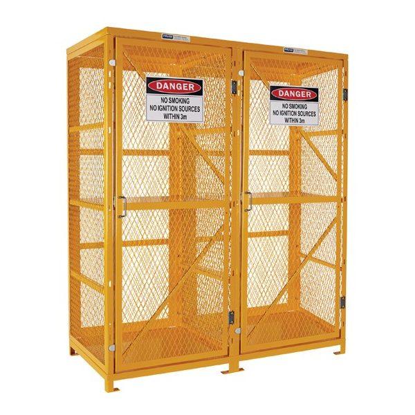 16 Cylinder Forklift Gas Storage Cage