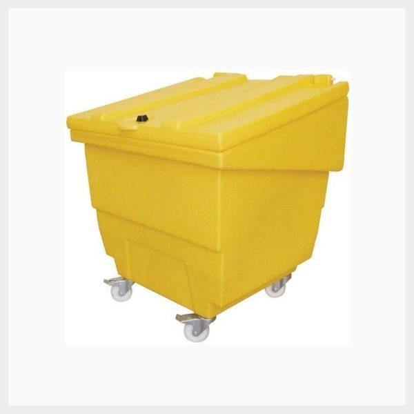250 Litre Low-Rise Storage Bin on Wheels - TSSGPSC2W