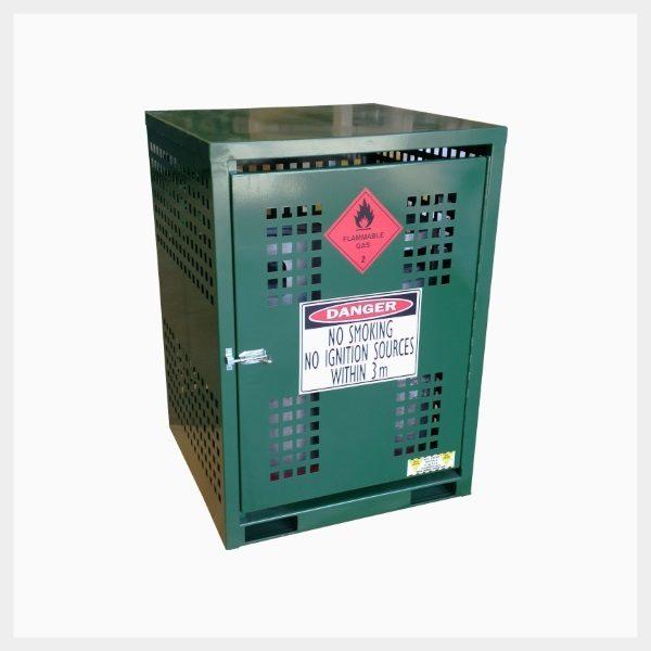 LPG Gas Cage – 16 Cylinder x 9 Kilogram