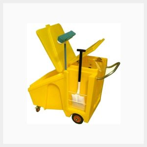 60 Liter Poly Maintenance Cart - TSSPC