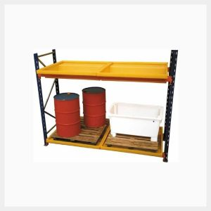 Rack Bund – 220 Litre Sump 4-Drum