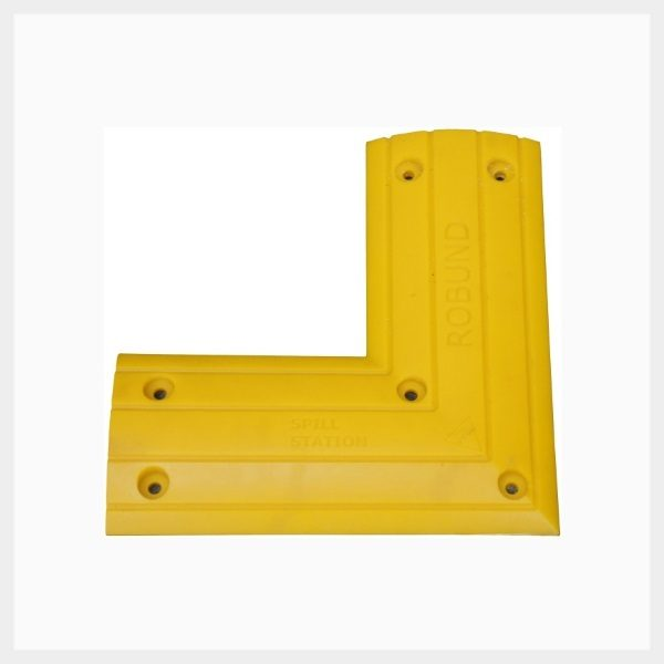 Drive Over Floor Bund Kit – High Traffic Corner Piece