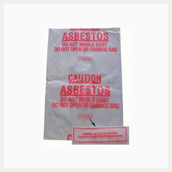 Asbestos Waste Disposal Bags - X-AWB/10