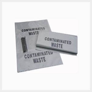 Contaminated Waste Bags & Ties - X-BAT/10